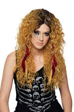 Womens Mixed Blonde Brigette Halloween Costume Wig