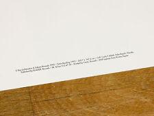 """ROY LICHTENSTEIN POSTER """" TINTIN READING """" TIM & STRUPPI POPART ORIGINAL PLAKAT"""