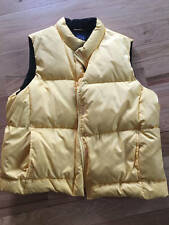 GAP Women's Down Vest Size Large Gently Worn Very Good Condition Yellow