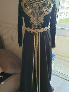 Kleid Takschita Kaftan Abaya Hijab Jabador Jellaba Dfin samt