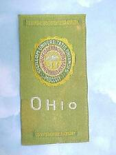 1910 Era Egyptienne Luxury Cigarette Silk Ohio UNIVERSITY / Green
