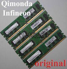 8GB 4X 2GB DDR2 Arbeitsspeicher PC 6400 Low Density alle Mainboards INTEL + AMD