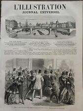 L' ILLUSTRATION 1866 N 1212 ASSAUT A LA MAISON DES BANQUES A LONDRES