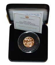 Pre-Owned 2016 Full Sovereign 22ct Gold Coin. Queen Elizabeth II