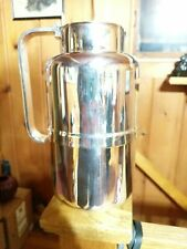 Vintage ITALIAN Silver Plated Vacuum Pitcher