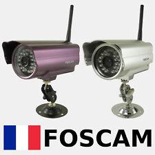 Caméra IP WiFi exterieure FOSCAM FI8904W 24 leds IR