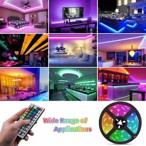 10m LED Strip Light SMD RGB RGBW Alexa Google WIFI Tape Lamp Set 12V US