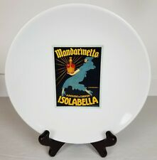 "1 Pottery Barn Vintage Cocktail Plate 8"" Mandarinetto Isabella White Replacement"