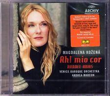 Magdalena KOZENA: HANDEL ARIAS Ah! mio cor Alcina Orlando CD Andrea MARCON Neu