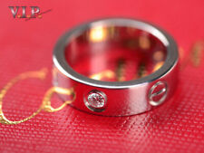 CARTIER LOVE RING 950 PLATIN++DIAMANT PLATINUM & DIAMOND BAGUE ANELLO SORTIJA 49