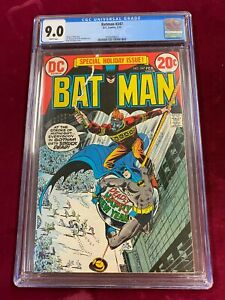 DC Comic Special Holiday Issue BATMAN #247 CGC 9.0 Dick Giordano Cover ~SC1