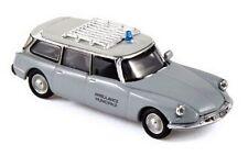 Citroen ID 19 break '63 Ambulance Municipale - NOREV - Echelle 1/87 - Ho