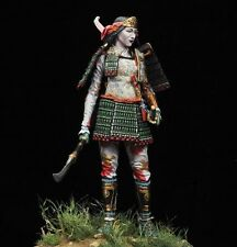 Alexandros 90mm Tomoe Gozen Female Warrior White Metal Model - 38450