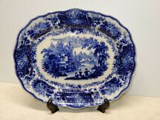 ANTIQUE BURGESS AND LEIGH NONPAREIL PATTERN 13 1/2  INCH PLATTER