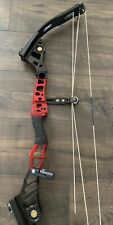 """Mathews Conquest Apex 7 Compound Bow Target Competition Black Red 29"""" 50-60# RH"""