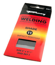 Pair of (2) Forney Industries 57011 Shade #10 Replacement Gas Welding Lens