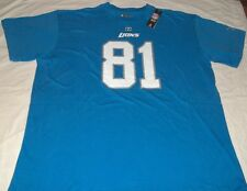 Calvin Johnson #81 Detroit Lions Jersey Style T-shirt 3XL Megatron VF Imagwear