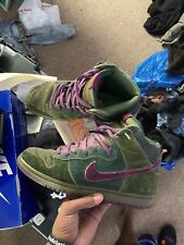 nike sb dunk high size 10 skunk supreme low 9.5 10.5