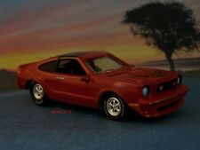 1978 FORD MUSTANG II KING COBRA 1/64 SCALE COLLECTIBLE DIECAST MODEL - DIORAMA