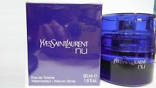 YSL NU  EAU DE TOILETTE 50ML SPRAY PER DONNA INTEGRO SIGILLATO