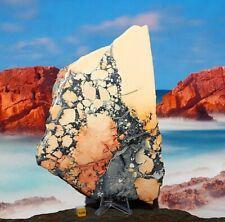 More details for maligano jasper polished slab slice specimen - natural raw mineral healing 574g