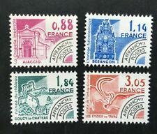 Timbre FRANCE Stamp - Yvert et Tellier Préoblitérés n°170 à 174 n** Mnh (Cyn38)
