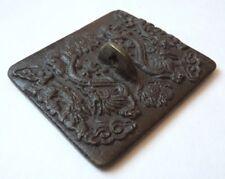 Sceau tampon en bronze Chine 19e siècle dragon China seal