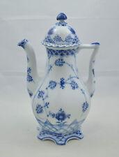 Royal Copenhagen Vollspitze Blue fluted full lace - Kaffeekanne - coffee-pot