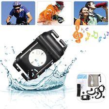 4GB IPX8 Waterproof MP3 Music Player FM Radio Swimming Underwater Sport Earphone