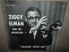ZIGGY ELMAN Orchestra Zaggin with Zig ORIGINAL SEALED LP Swing Era 1015 NoCutOut