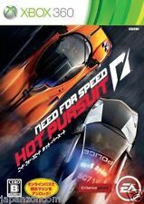 Used Xbox 360 Need for Speed: Hot Pursu MICROSOFT JAPAN JAPANESE JAPONAIS IMPORT