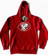 Cooperstown Collection Mens MLB Cincinnati Reds Hoodie Sweatshirt Large L NWT