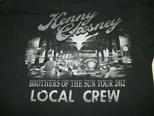 Kenny Chesney 2012 Local crew XL t-shirt brothers of the sun country band