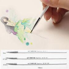 Weasel's Hair Brush Pen Art Watercolor Painting Line Pen Art Supplies Stationery