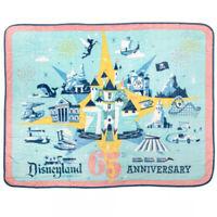 Disneyland 65th Anniversary Happiest Place On Earth Funko Fleece Blanket 48x60