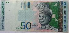 RM50 Ali Abul Hassan center sign Note DE 7127693
