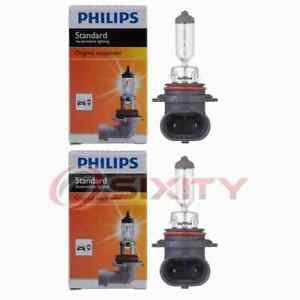 2 pc Philips Daytime Running Light Bulbs for Buick Lucerne 2006-2011 rq
