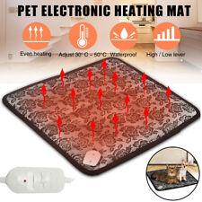 Electric Heating Waterproof Pet Dog Cat Heater Warming Pad Mat Bed Warm Blanket