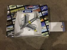 Franklin Mint F-86 Saber model plane with certificate of authenticity