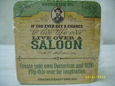 Dr McGillicuddy's Schnapps - Doctorism - 4x4 Cardboard Drink Coaster - 25 Pack