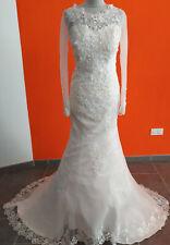 Robe de mariée IVOIRE  -  Taille 46 - LIVRABLE DE SUITE - nouvelle collection