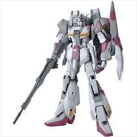 Bandai MG 1/100 Gundam MSZ-006-3 Zeta Gundam White Unicorn color ver Model Kit