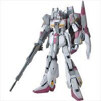 Bandai MG 1/100 Gundam MSZ-006-3 Zeta Gundam White Unicorn color ver Model Kit