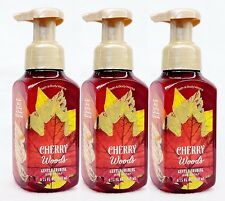 3 Bath & Body Works CHERRY WOODS Foaming Hand Soap Autumn Harvest