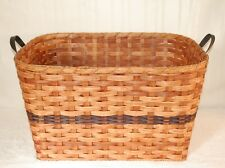 Handcrafted Large Laundry Basket