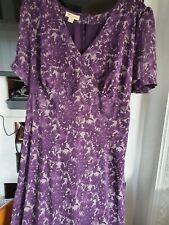 Monsoon 20 Purple Maxi Dress Size 20