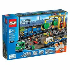 LEGO City CARGO TRAIN (60052) RARE! RETIRED! BRAND NEW! FACTORY SEALED! WOW HTF