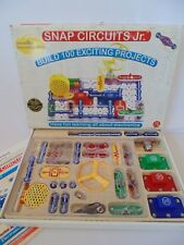 Snap Circuits Jr SC-100  Electronics Science Hands-on Kids Toy HomeSchool EXCELL