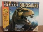 Topics~World of Dinosaurs Deluxe Boxed Set~5 CD-ROM Programs~PC Software~1999