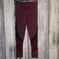 NWT NUX Shadow Legging - Violet Wine - Size Large